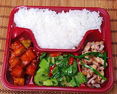红烧肉标准餐